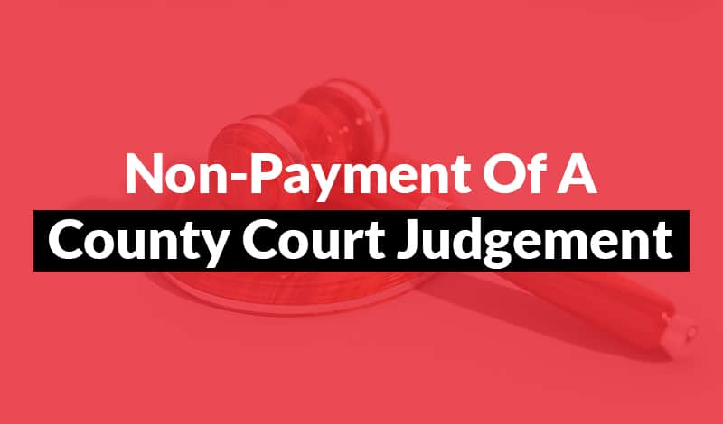 How to collect an unpaid CCJ